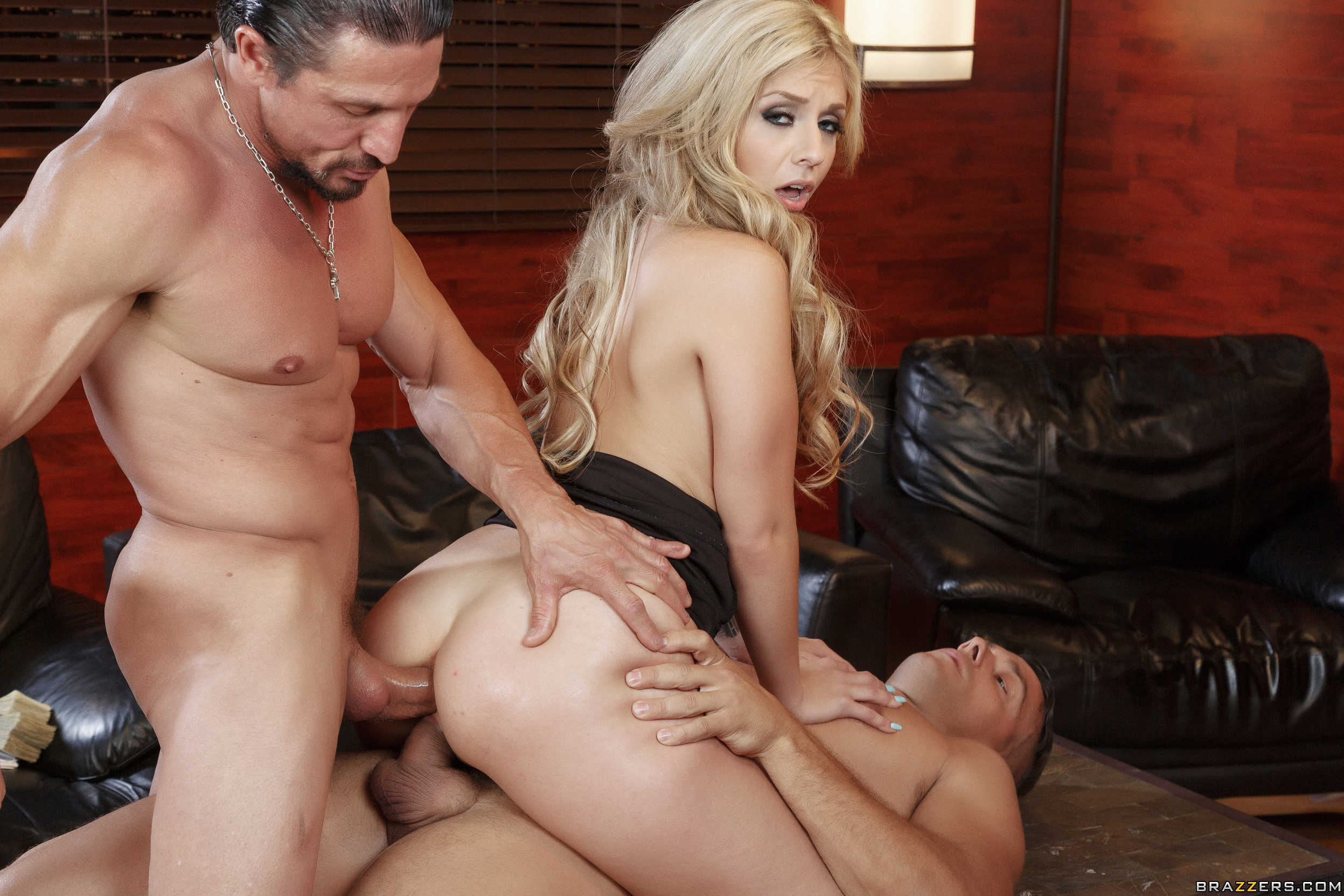 Aj applegate sucks and fucks a dozen black cocks - 2 part 1