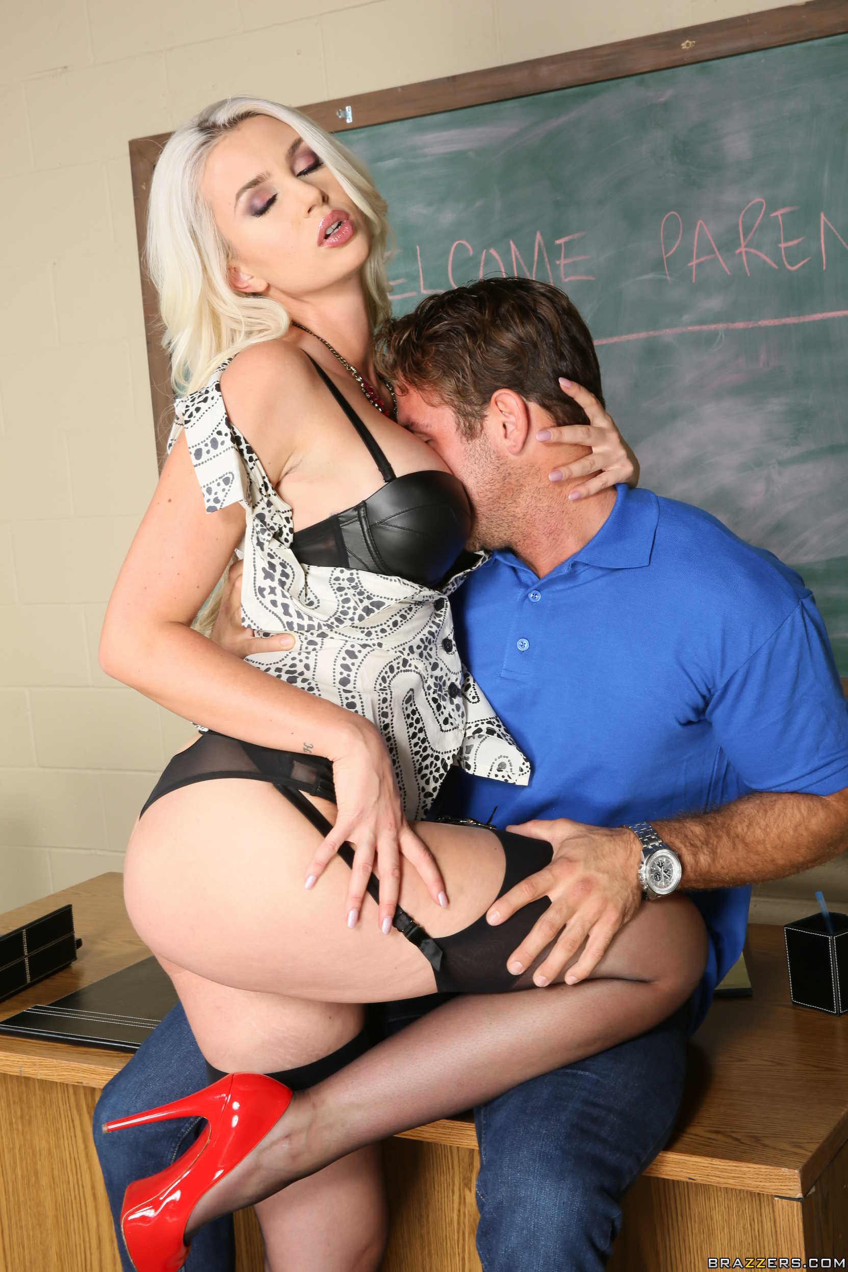Milf teacher parent conference - 1 part 1