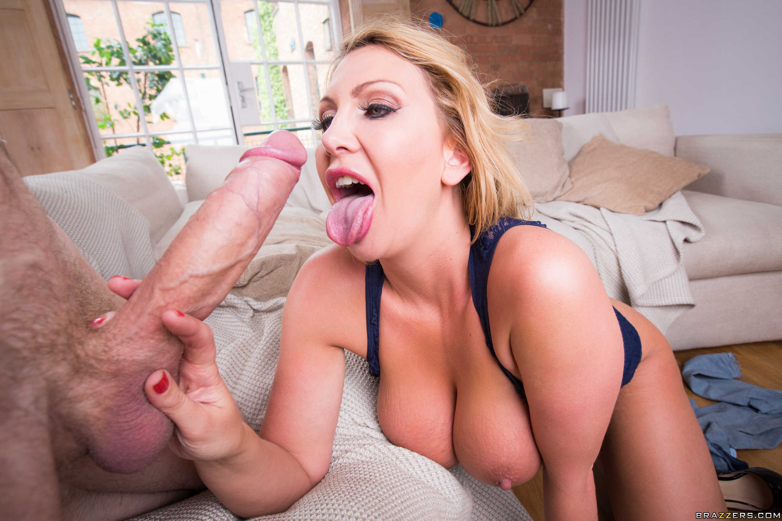 Leigh Darby Sucking Cock