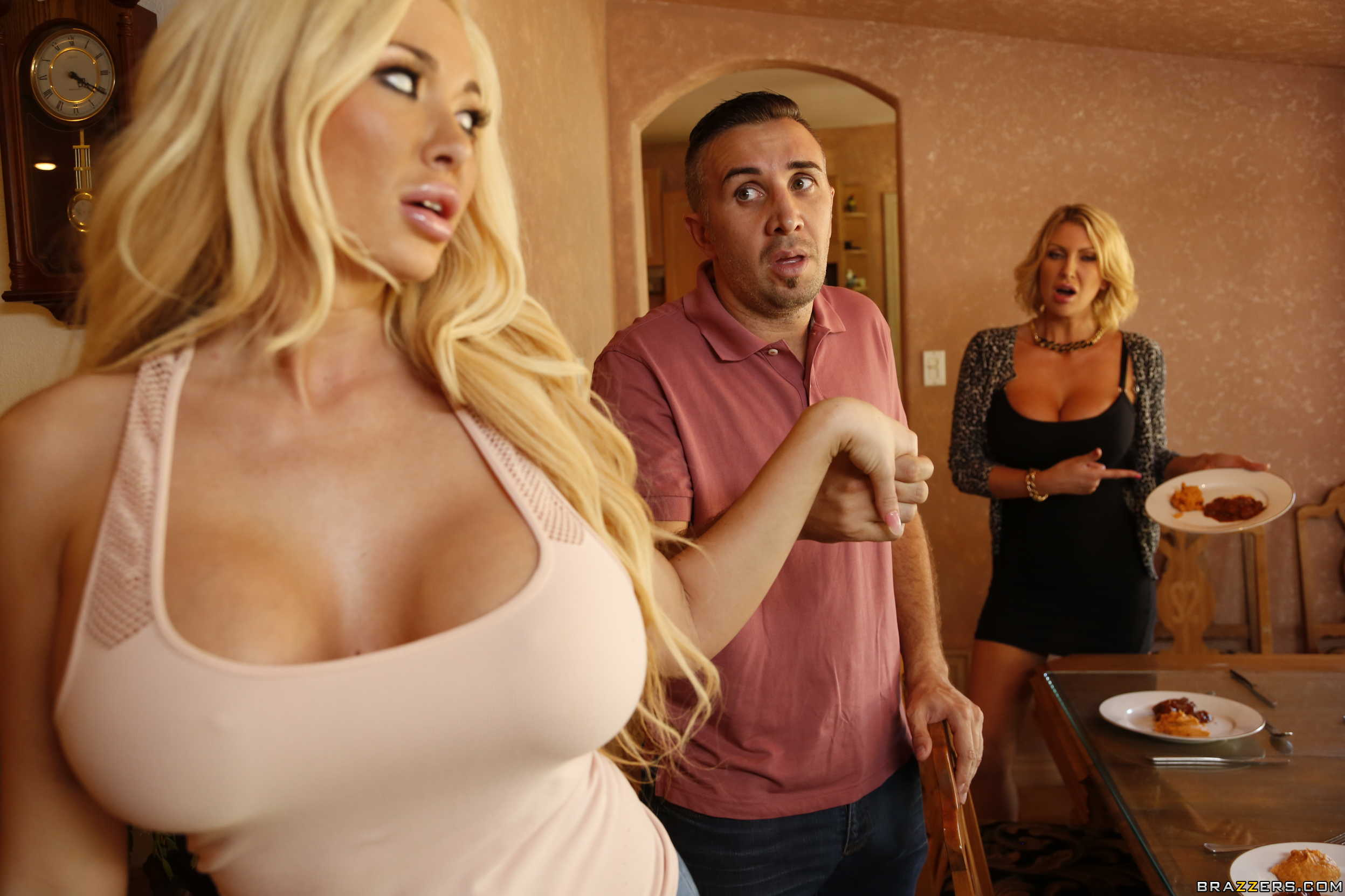 Brandi Love Step Mom Threesome