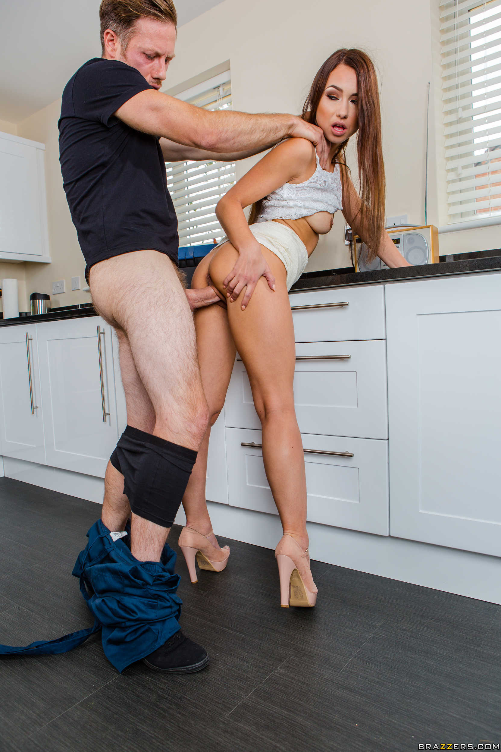 Horny wife gets her fix