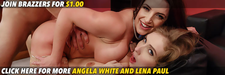 Porn Logic Angela White Lena Paul Banner